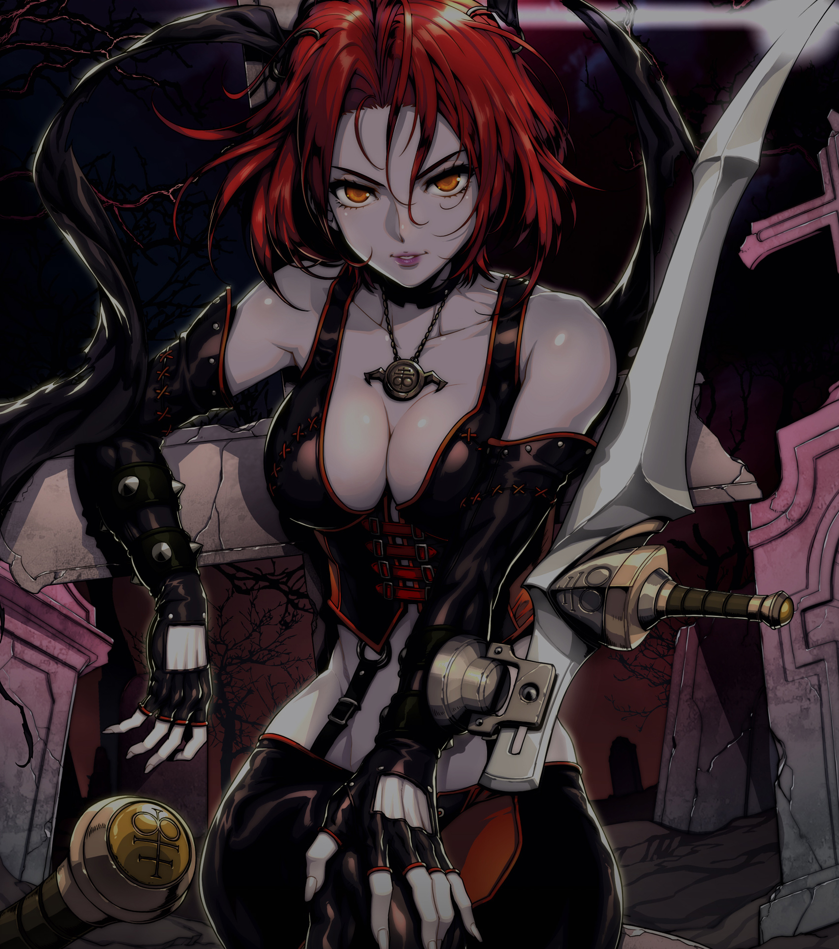 Bloodrayne Betrayal Comes To Japan Next Month As Crimson Slayer