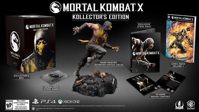 Action figures Mortal-kombat-x-amazon-collectors-edition