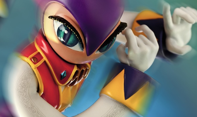 """'NiGHTS Into Dreams' """"NiGHTS"""" Statue Coming This Fall"""