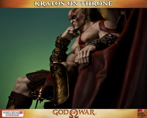 Kratos on Throne - Gaming Heads - 3