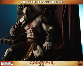 Kratos on Throne - Gaming Heads - 4