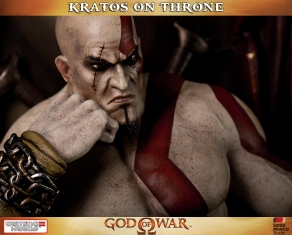 Kratos on Throne - Gaming Heads - 5
