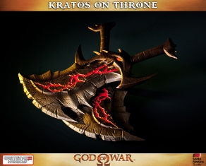 Kratos on Throne - Gaming Heads - 6