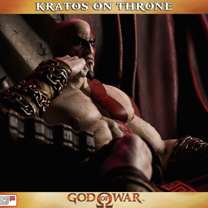 Kratos on Throne - Gaming Heads - 7