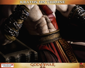 Kratos on Throne - Gaming Heads - 8