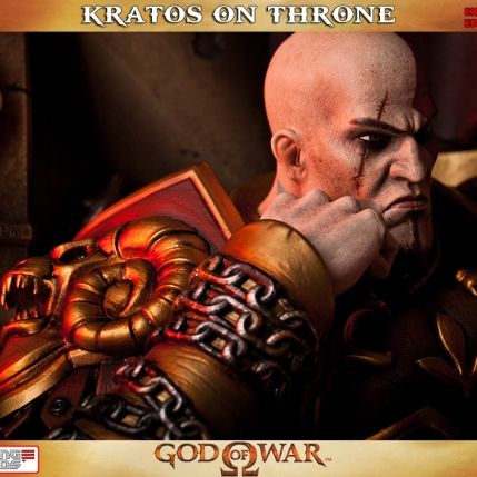 Kratos on Throne - Gaming Heads Exclusive - 2