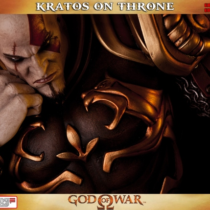 Kratos on Throne - Gaming Heads Exclusive - 3
