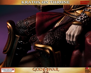 Kratos on Throne - Gaming Heads Exclusive - 4