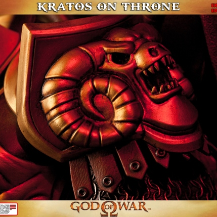 Kratos on Throne - Gaming Heads Exclusive - 6