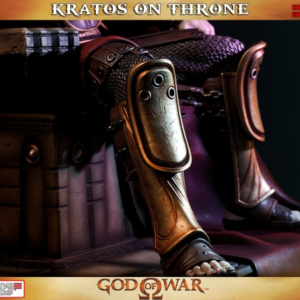 Kratos on Throne - Gaming Heads Exclusive - 7