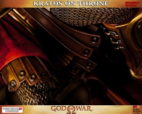 Kratos on Throne - Gaming Heads Exclusive - 8