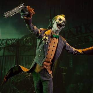 Sideshow Collectibles Arkham Joker 6