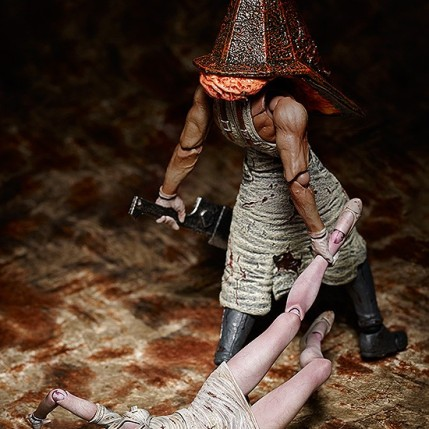 Figma Nurse and Pyramid Head