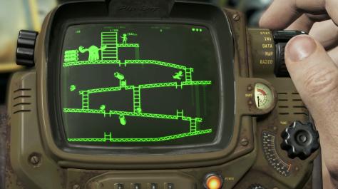 Bethesda E3 2015 Fallout 4 Pip Boy Red Menace game
