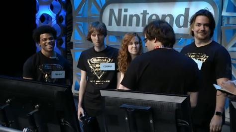 Nintendo World Championships MarioKart 8 Trihex Cosmo Bananas Arin