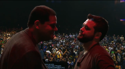 Nintendo World Championships Reggie VS Hungry Box
