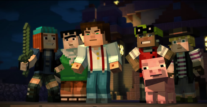 'Minecraft: Story Mode' Trailer Shown At Minecon 2015