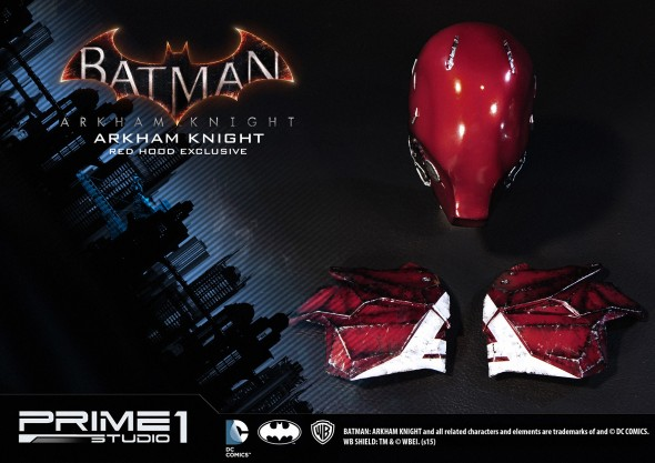 MMDC-02 Arkham Knight Red Hood Variant 8
