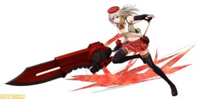 Project X Zone 2 Alisa God Eater 2 design