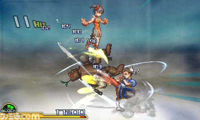 Project X Zone 2 Chun-Li and Ling Special Attack