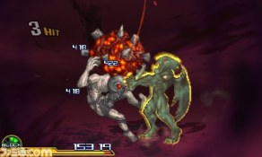 Project X Zone 2 Darkstalkers Special Attack screenshot