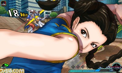 Project X Zone 2 Pai Chen screenshot
