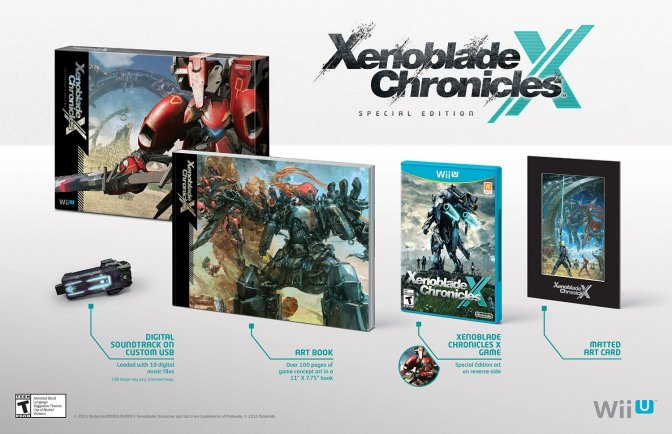 'Xenoblade Chronicles X' Special Edition Coming To NA