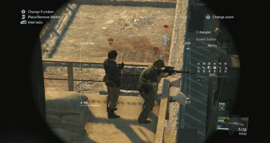 Metal Gear Solid V The Phantom Pain Xbox 360 screenshot 3