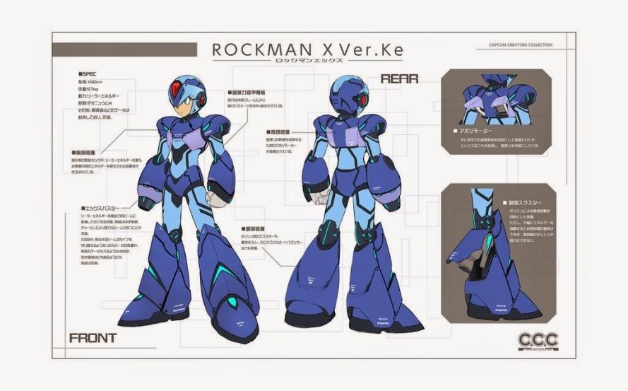 Rockman X April Fools Redesign