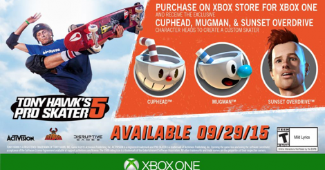 THPS5 pre-order promotion XLBA