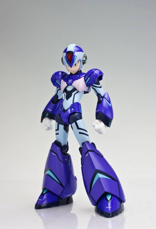 TruForce Collectibles Mega Man X Action Figure Front