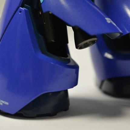 TruForce Collectibles Mega Man X Action Figure Leg Detail