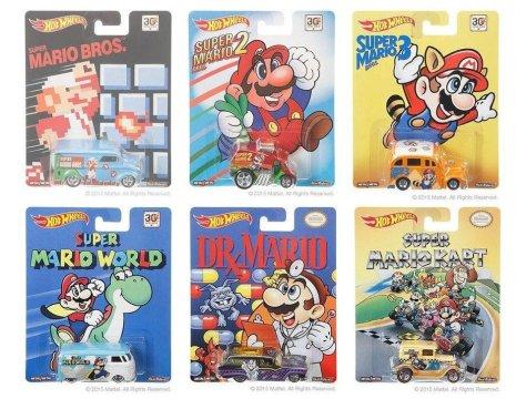 30th Anniversary Super Mario Bros Hot Wheels Collection
