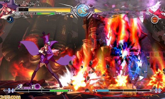 BlazBlue Central Fiction Nine The Phantom 3