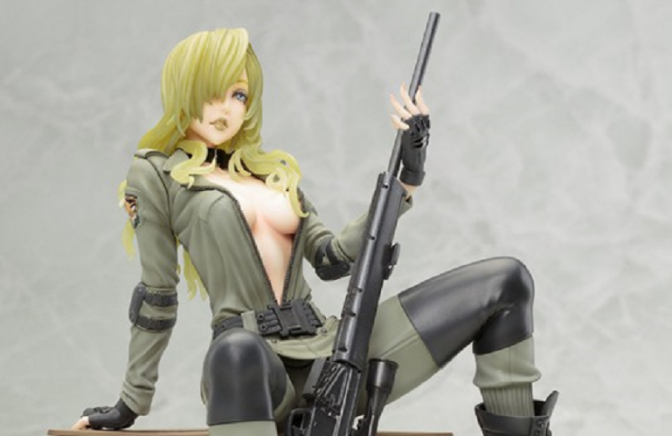 """'Metal Gear Solid' """"Sniper Wolf"""" Statue Now Available For Pre-Order"""