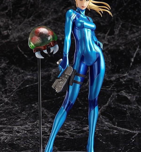 Max Factory GSC Zero Suit Samus statue 1