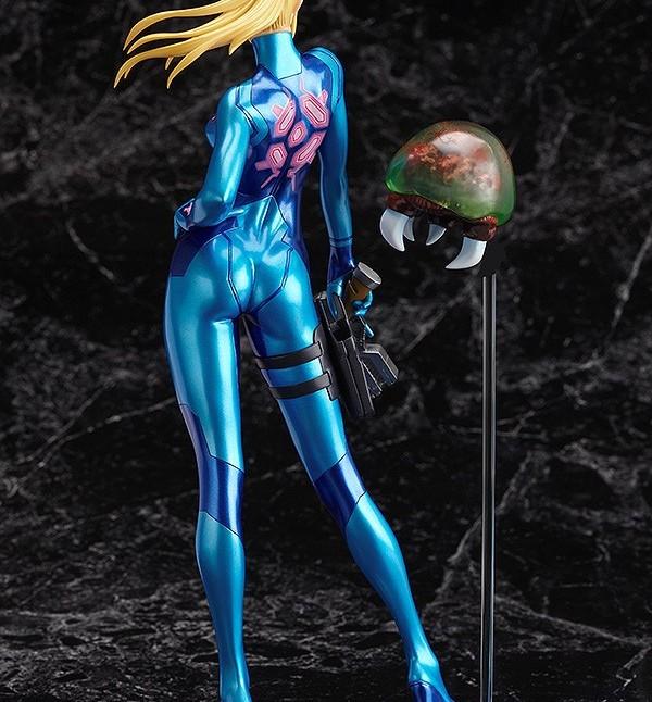 Max Factory GSC Zero Suit Samus statue 2