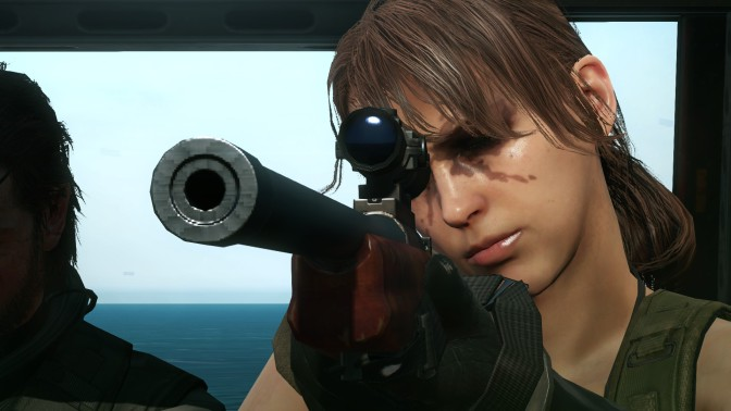 """'Metal Gear Online' Maps And """"Quiet"""" DLC Coming This March"""