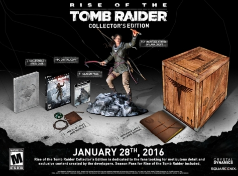Rise of the Tomb Raider PC Collector's Edition