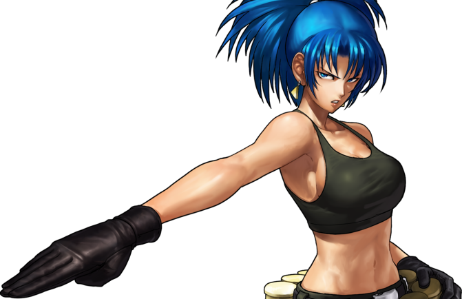 'The King Of Fighters XIV' Trailer Shows Off Returning Favorites, New Wrestling Dinosaur