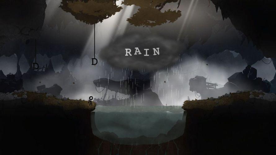 Typoman Rain Puzzle