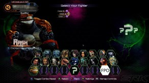 Killer Instinct Season 3 Character Select Screen