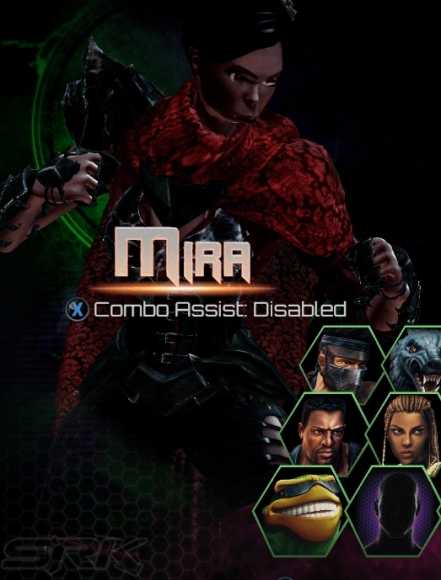 Killer Instinct Season 3 Mira WIP Character Select