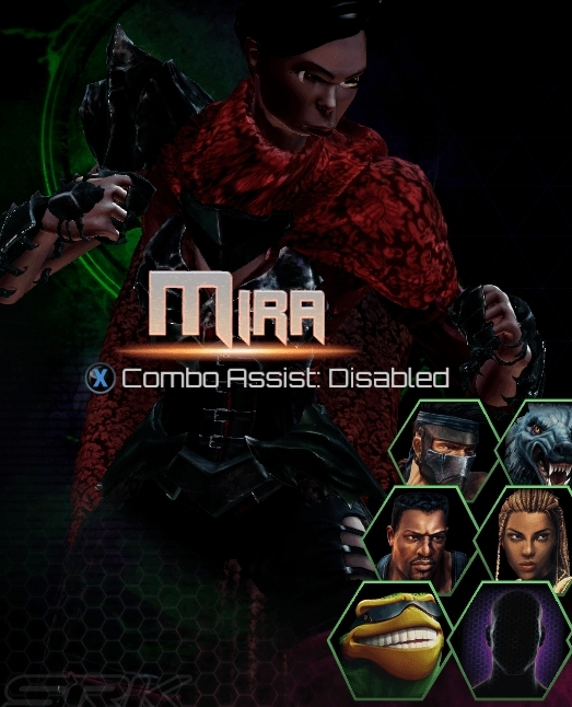 Killer Instinct Season 3 Mira WIP Character Select