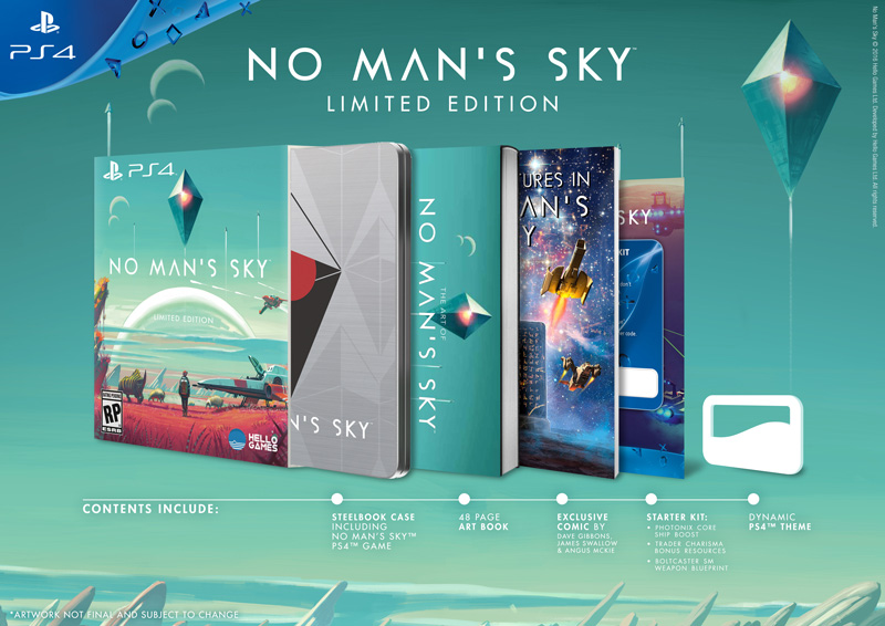 No Man's Sky PS4 Limited Edition