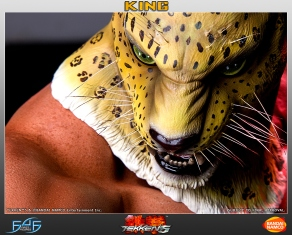 First4Figures Tekken 5 King Statue 1