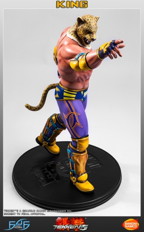 First4Figures Tekken 5 King Statue 10