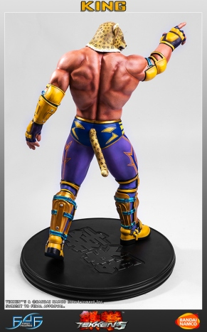 First4Figures Tekken 5 King Statue 12