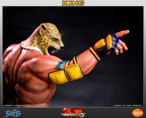 First4Figures Tekken 5 King Statue 2