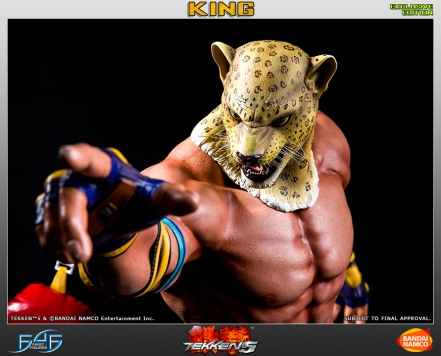 First4Figures Tekken 5 King Statue Exclusive Version 1